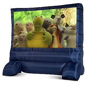12 x 12 inflatable movie screen